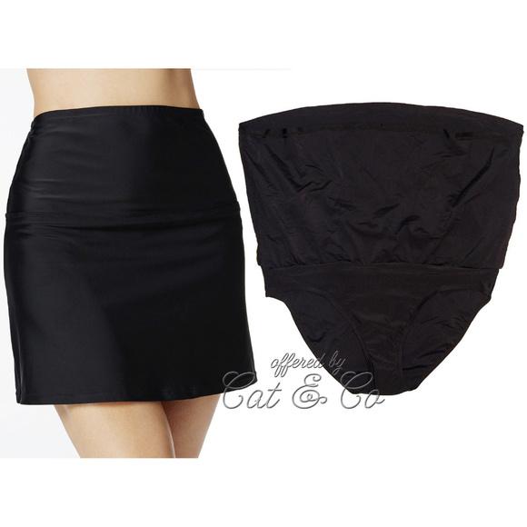 6dce3d9fd9 Island Escape Swim | High Waist Tummy Control Skirted Bottom Skirt ...